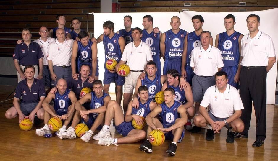 Reprezentacija Eurobasket 2001
