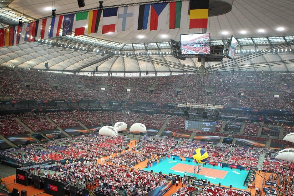 Nacionalni stadion Varšava odbojka Evropsko prvenstvo