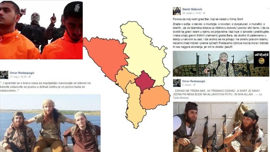 Devetoro ISIS ratnika vraća se u Crnu Goru