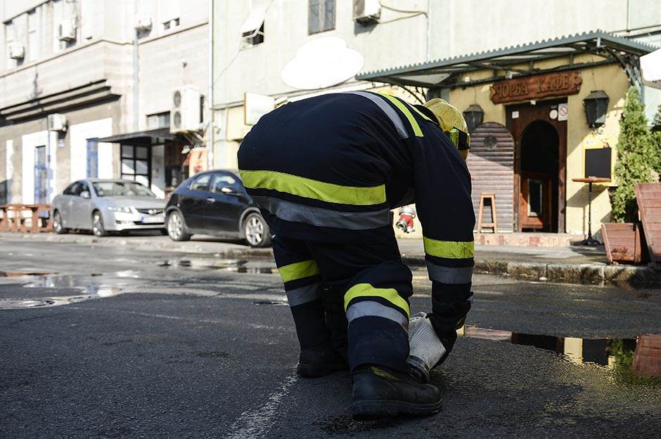 Beograd: Ugašen požar u piceriji