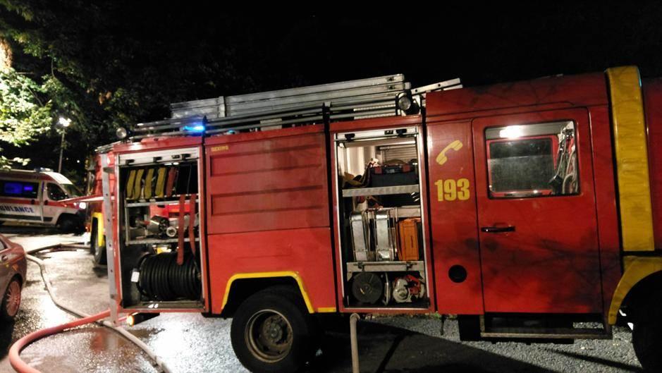 požar, vatrogasci, novi beograd