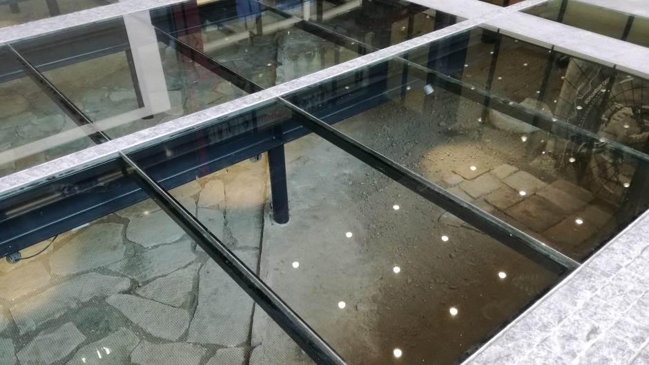 arheološko nalazište, arheologija, TC Rajićeva, tržni centar
