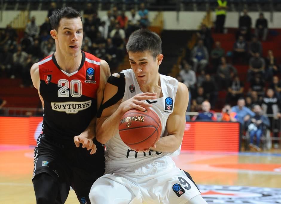 Trojke Litvanaca zaustavile Partizan
