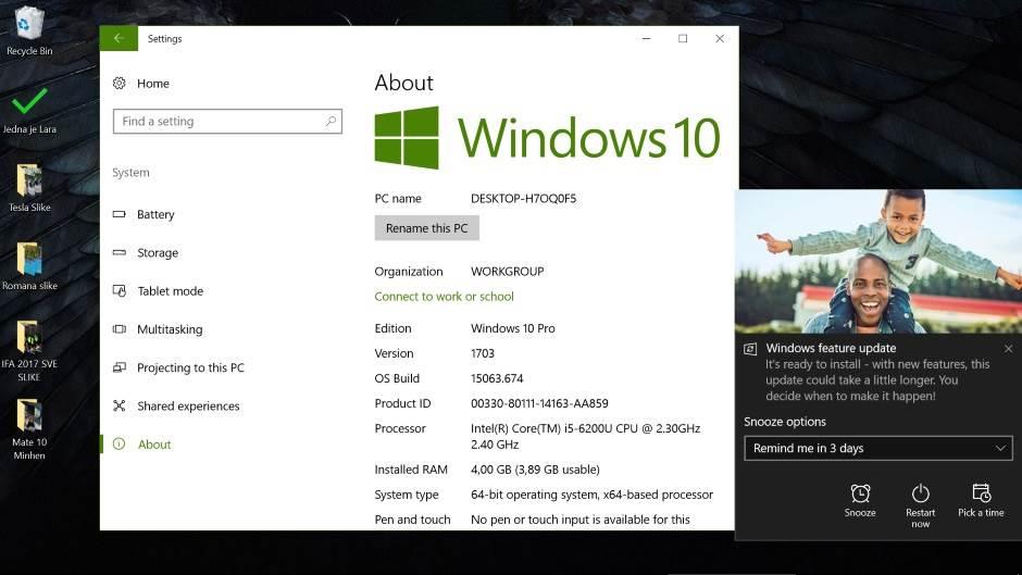 Windows 10 Fall Creators Update kako preuzeti, Windows 10 Fall Creators Update download, Windows 10