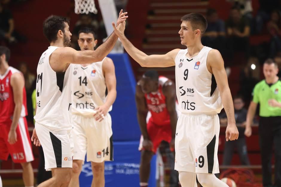 Mihajlo Andrić Vanja Marinković KK Partizan