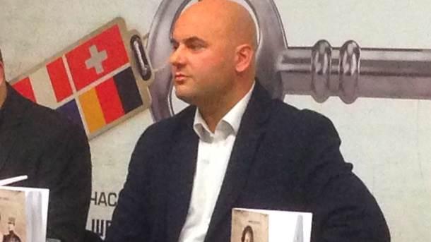 """Milan Bogojević, autor knjige """"Milunka Savić - ordenje i ožiljci"""""""