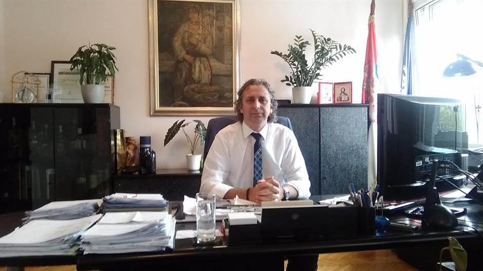 Direktor Gradske čistoće, Miroslav Bogdanović