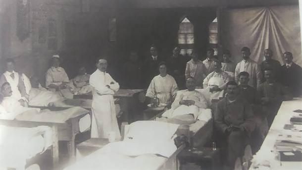 Srpski vojnici u bolnici u Roterdamu