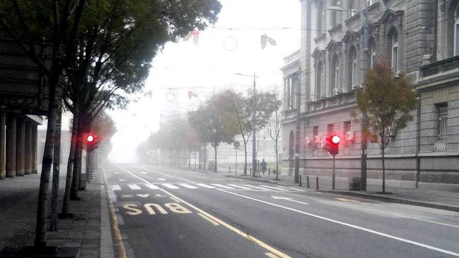 magla ulica put centar terazije