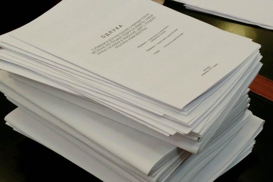 papiri,odluka,sednica,dokumenta