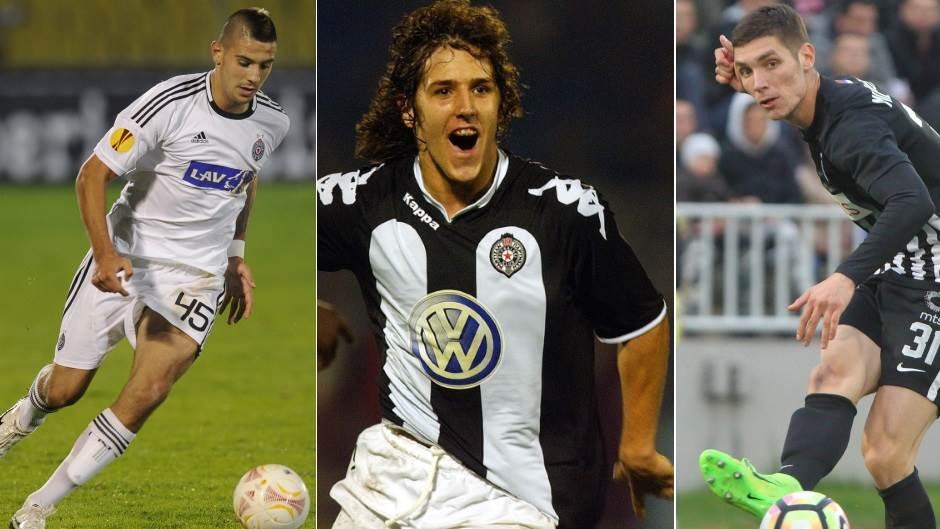 Partizan, Partizanovi talenti