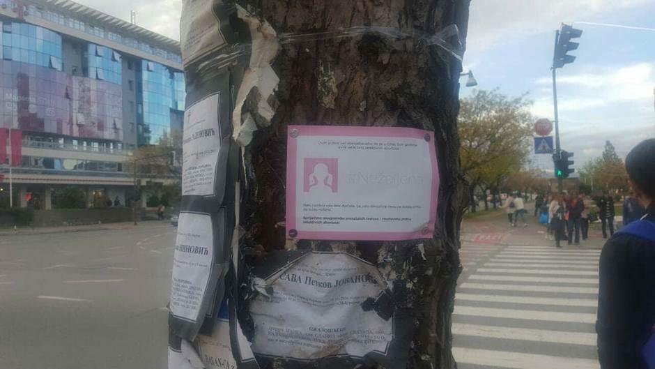 Crna Gora: Osvanule ČITULJE nerođenim devojčicama