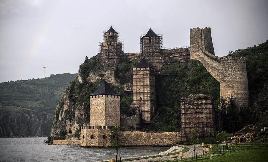 Golubačka tvrđava na mapi stranih turista