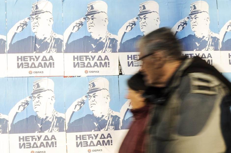 """Beograd oblepljen plakatima """"Neću da izdam"""""""