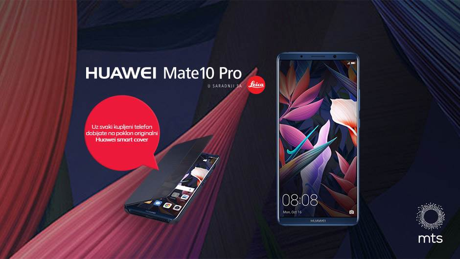 Uzmite Huawei Mate 10 Pro i dobićete vredan poklon