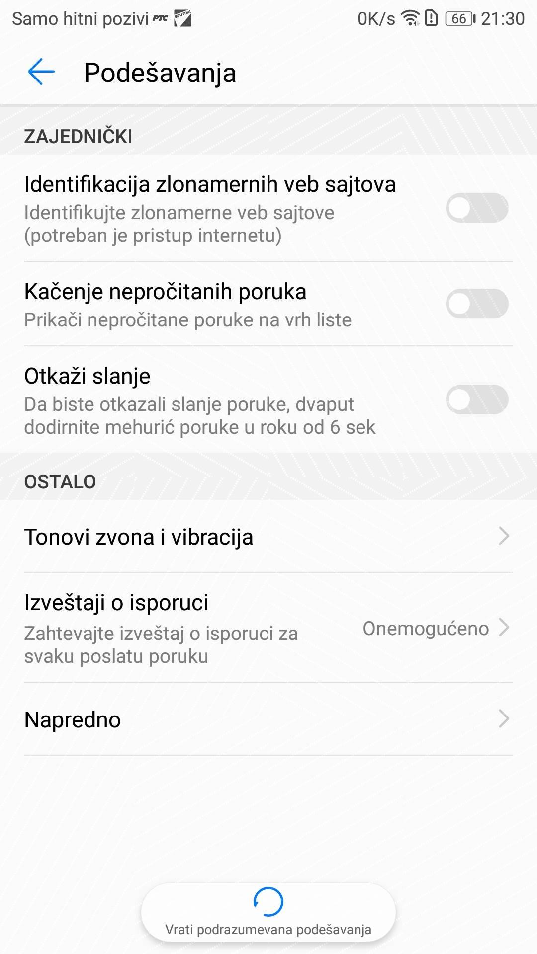 Kako otkazati poslatu SMS poruku (FOTO)
