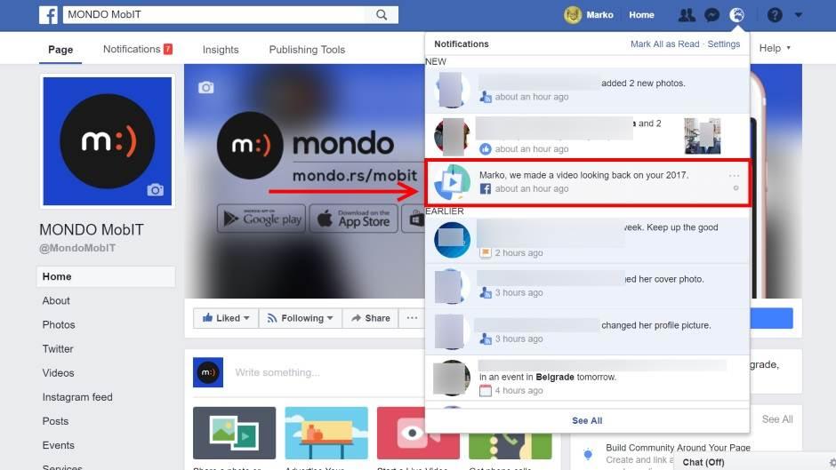Year in review, FB, Fejs, Facebook