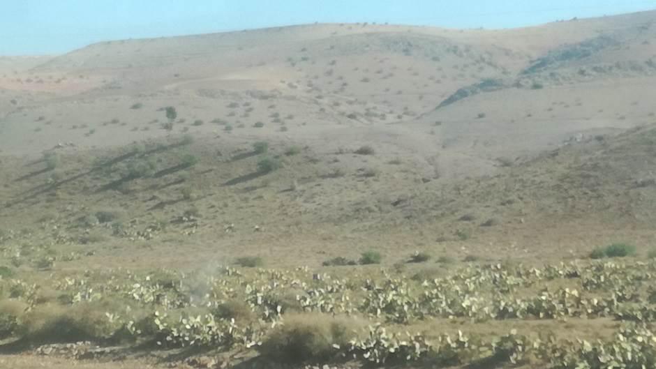Maroko, pustinja