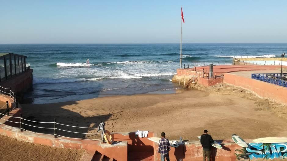 Maroko, Kazablanka, okean