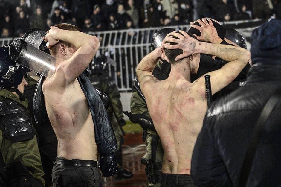 TUČA NA DERBIJU: Povređeni i stranci!