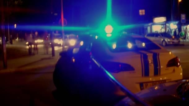 policija stop milicija traka