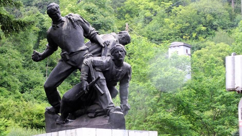 Spomenik, Prijepolje, partizani, SFRJ