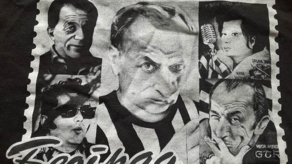 murali, grafiti, grobari, navijači Partizana