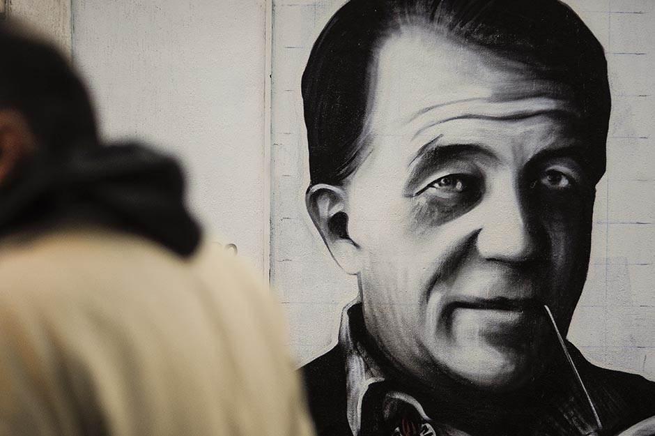 mural partizan, gtr, bora todorović
