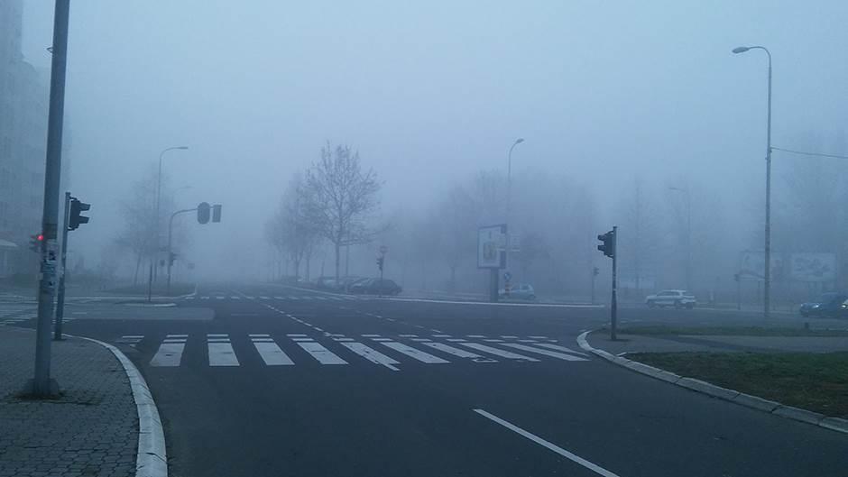 magla, ulica