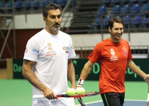 Nenad Zimonjić i Dušan Lajović