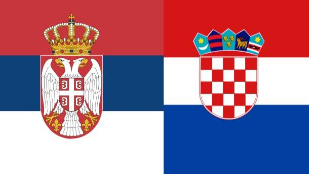 hrvatska i srpska zastava srbije i hrvatske srbija hrvatska zastave šahovnica