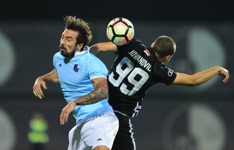 Partizan, igra glavom, igranje glavom, Ožegović, Volkov