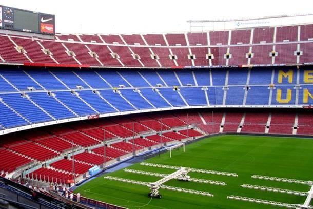 barselona, španija, Camp Nou, kamp nou