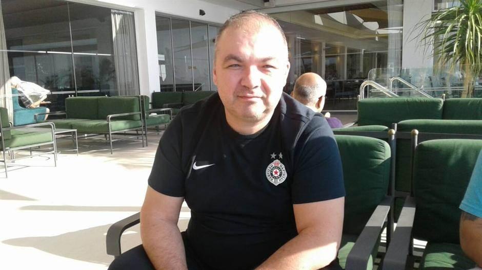 Viktor Vujošević fizio Partizana