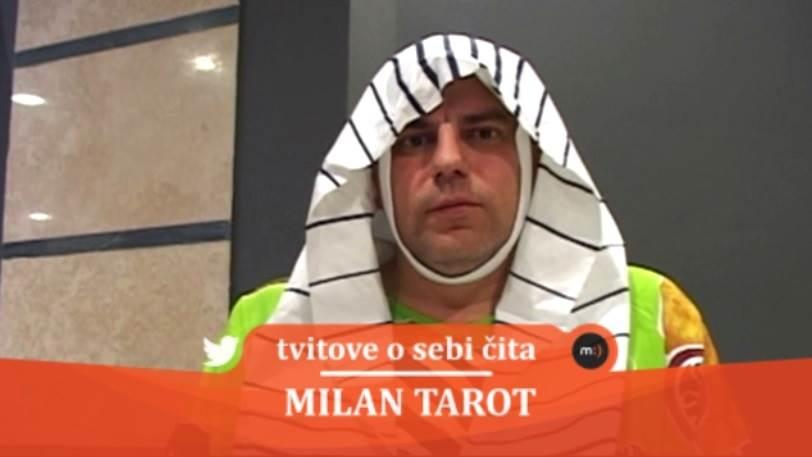 Milan Tarot, zabava, mondo tv, tvitovi