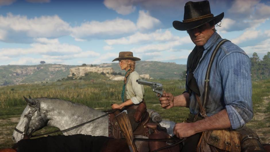 Šest minuta spektakla: Red Dead Redemption 2 video