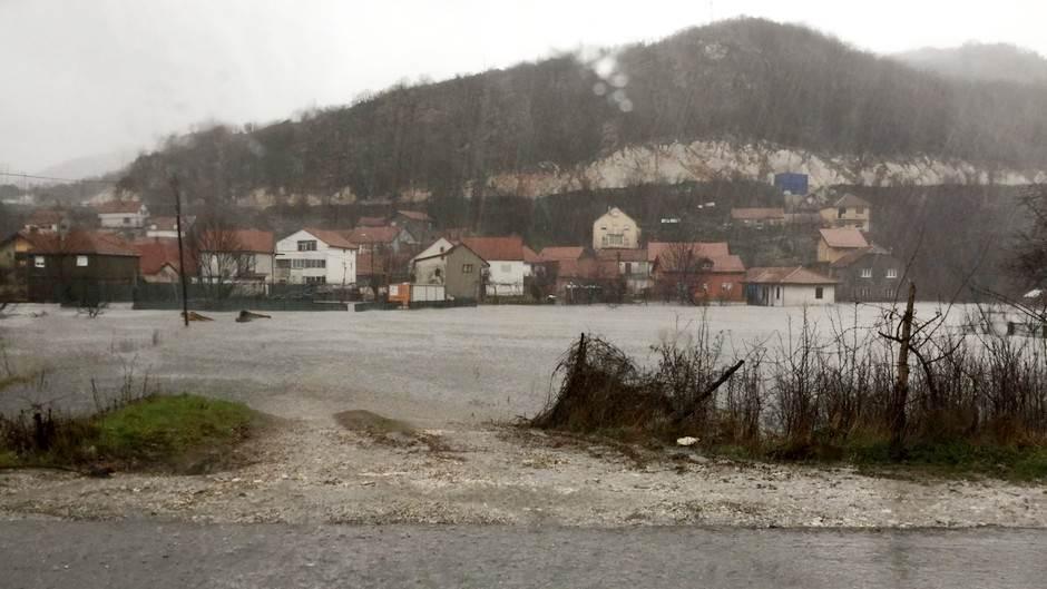kiša poplava Cetinje