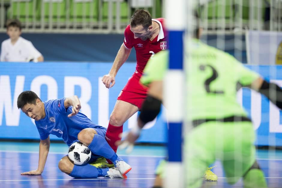 Marko Perić futsal Srbija Kazahstan