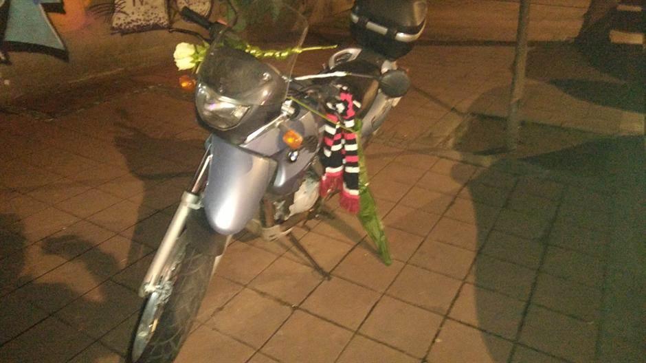 Cveće na motoru Nebojše Glogovca (FOTO)
