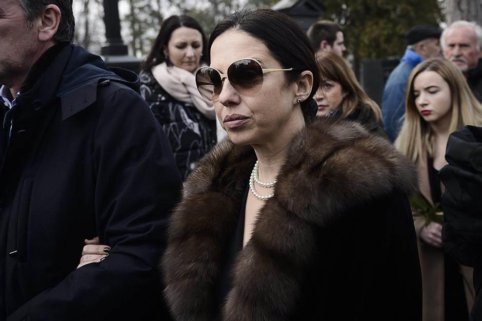 nebojša glogovac, sahrana, Nataša Ninković