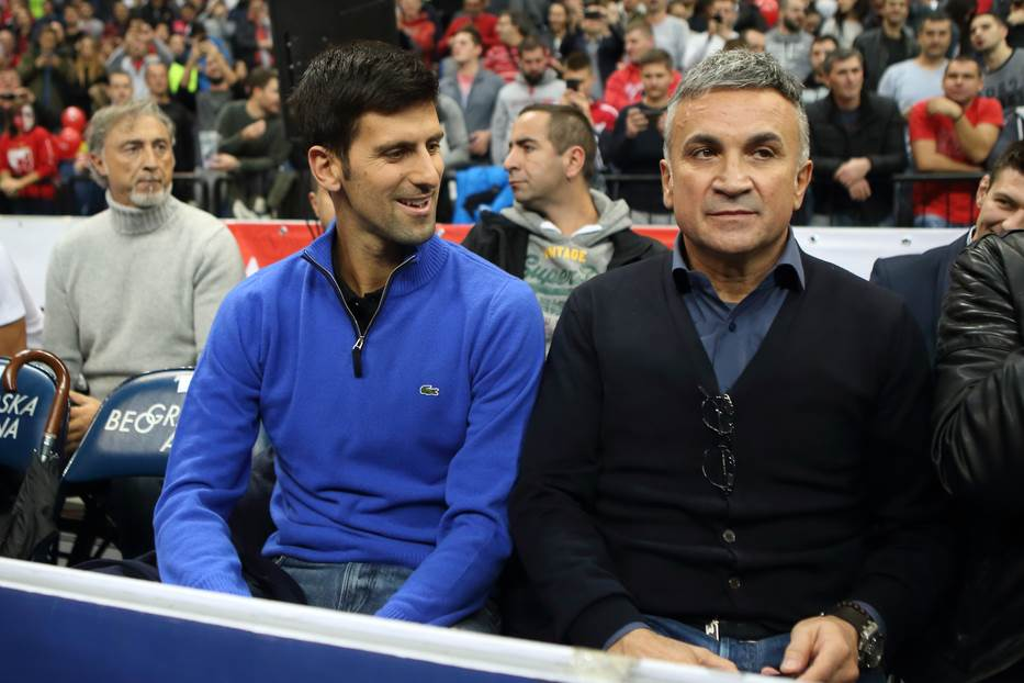 Novak Đoković i Srđan Đoković
