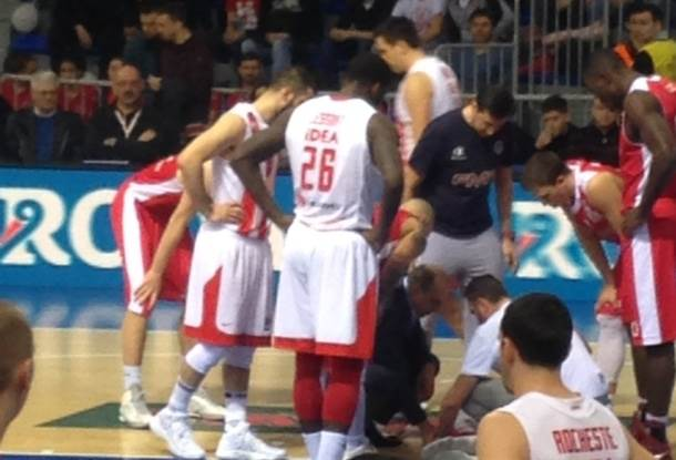 Stefan Lazarević povreda