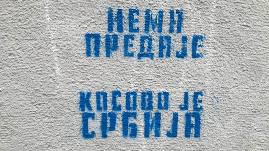 Kosovo, Kosovo je Srbija, grafit, grafiti