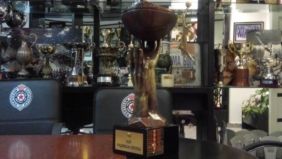 Kup Radivoja Koraća, pehar, trofej