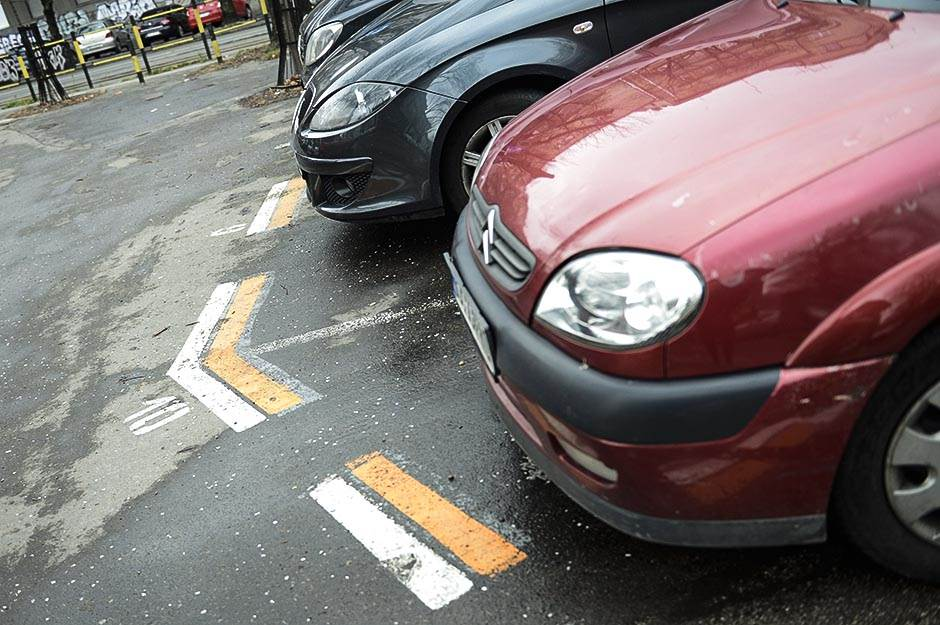 parking, parkiranje, zona, automobili