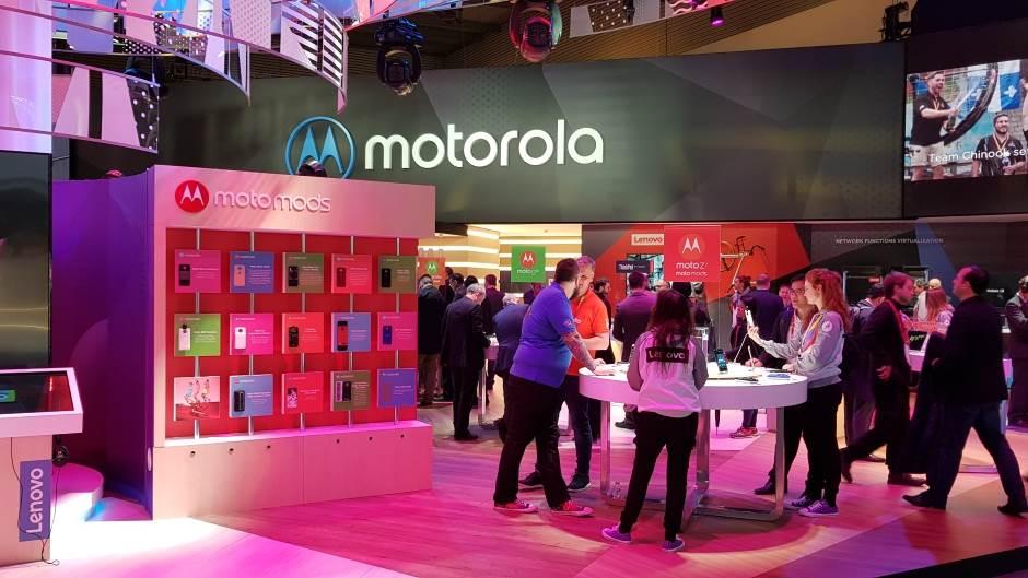 Logo, Lenovo, Moto, Motorola, MWC 2018