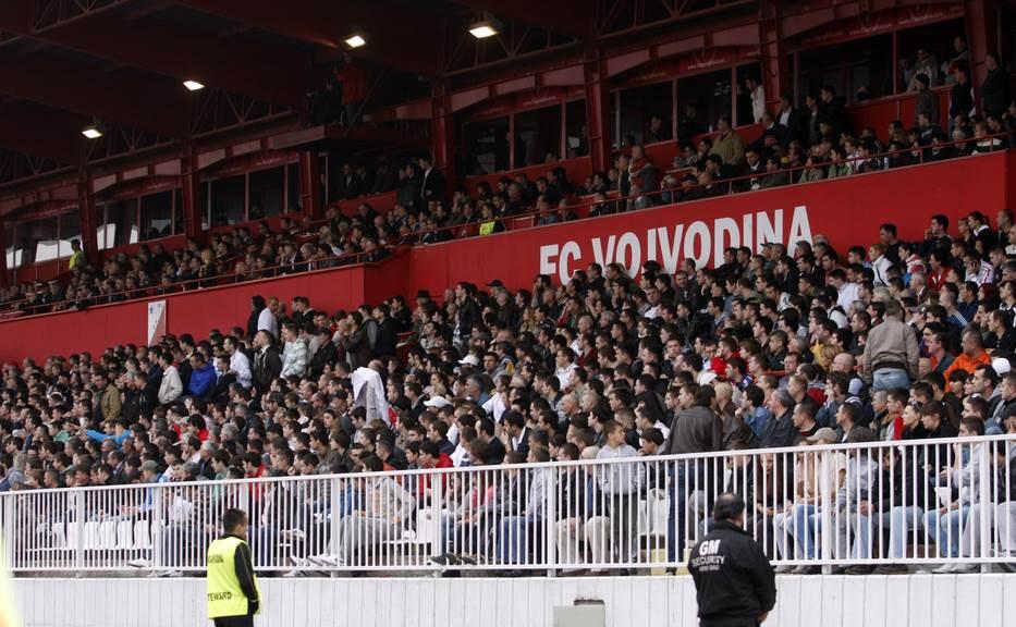 fk vojvodina, vojvodina, karadjordje, karađorđe, novi sad, stadion, tribina