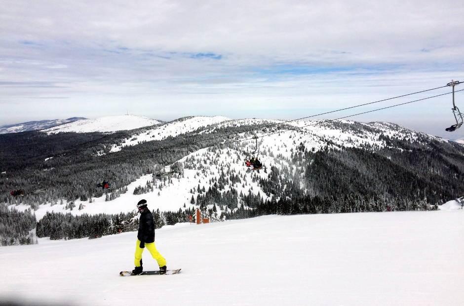 kopaonik, planina, zimovanje, snoubord
