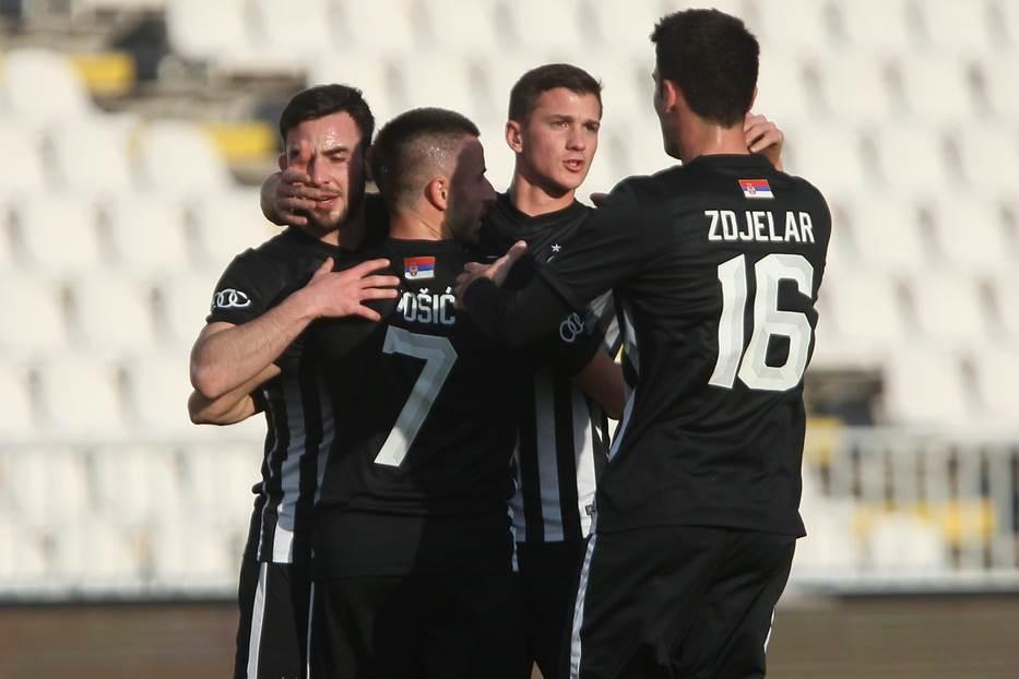Partizan, Tošić, Zdjelar, Janković, Cucin