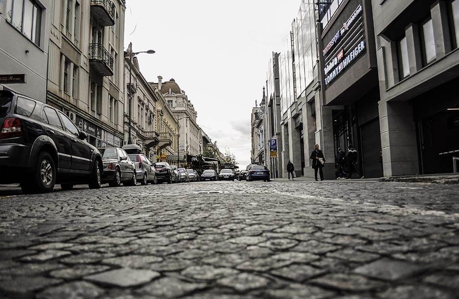 kralja petra, ulica, kaldrma